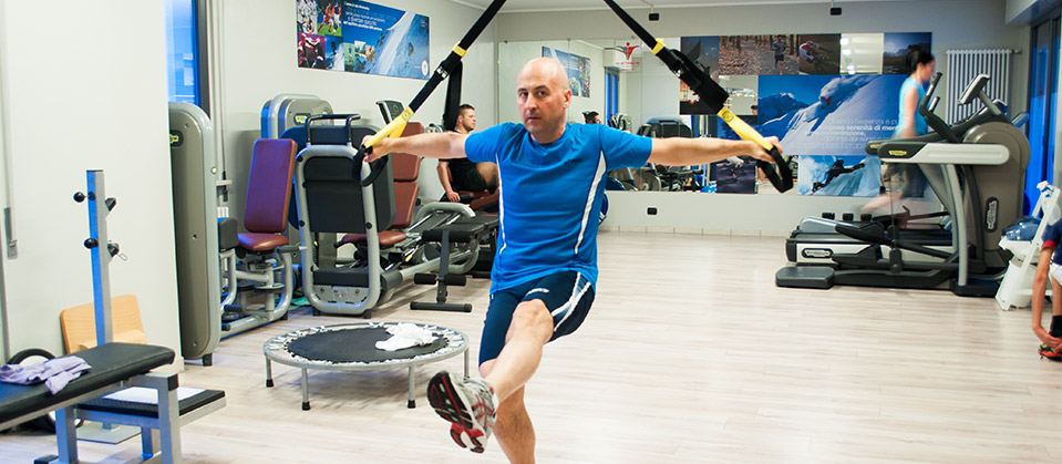 Medical fitness a Bergamo.